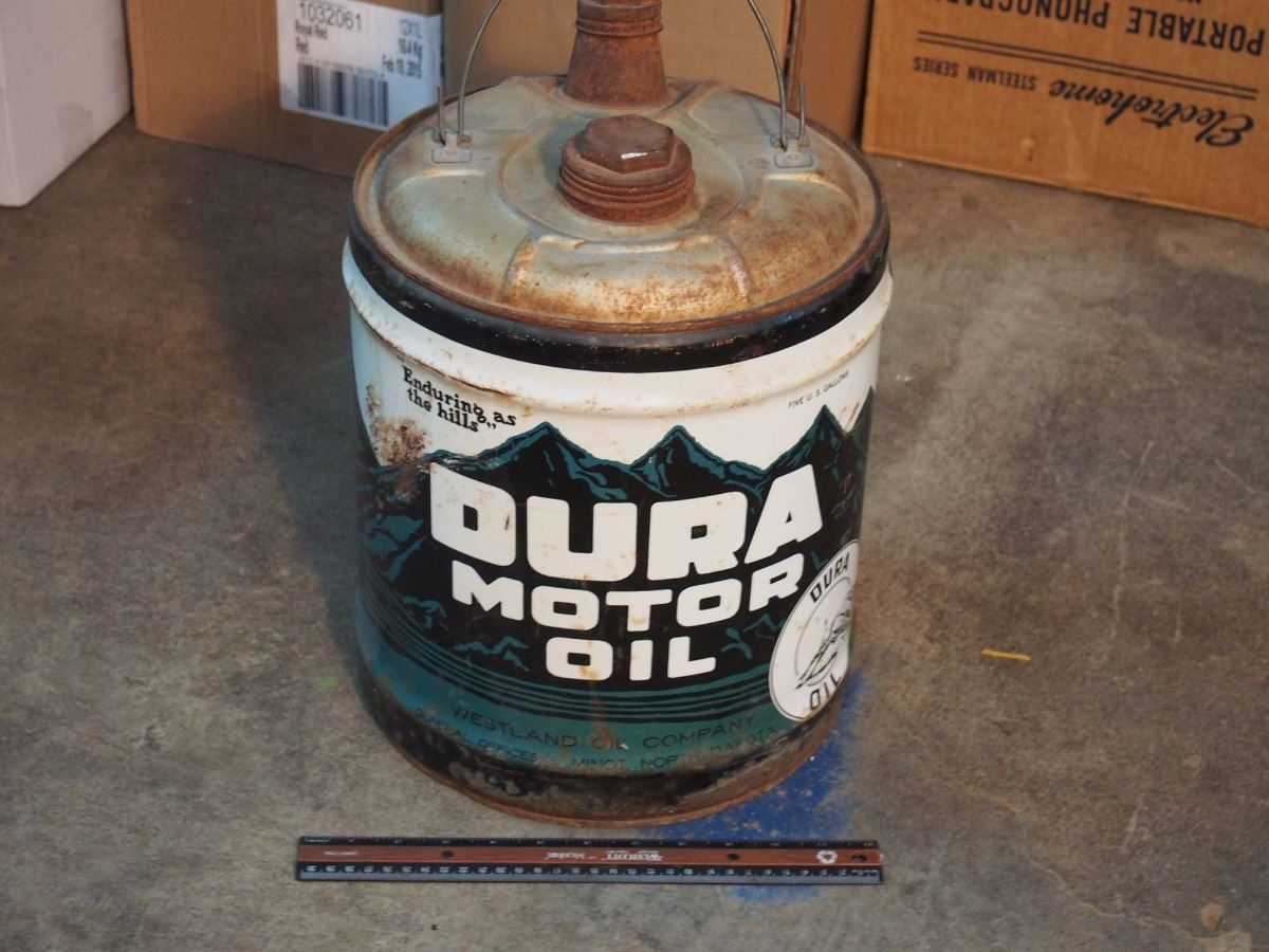 Dura motor oil 5 gallons for Gallon of motor oil
