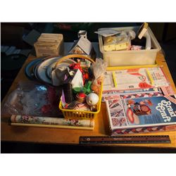 Huge Lot Of Sewing Materials & Misc.
