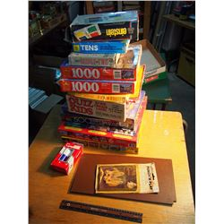Lot Of Board Games & Puzzles