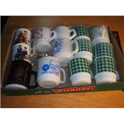 Lot Of Coffee Cups (Some Fire King)