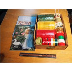 Lot Of Ribbon With Calendars