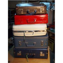 Lot Of Suitcases