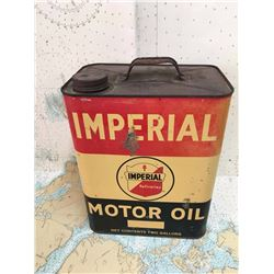 Imperial Motor Oil Can 2 Gallon