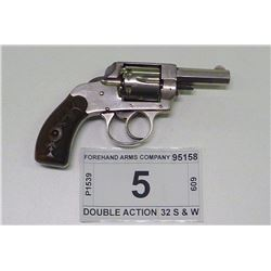 FOREHAND ARMS COMPANY , MODEL: DOUBLE ACTION , CALIBER: 32 S & W