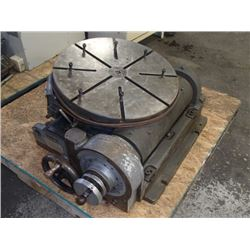 "Pratt & Whitney 24"" Tilting Precision Rotary Table"