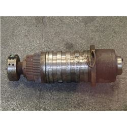 40 Taper Machining Spindle, Gear Driven?
