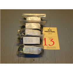Lot of (5) FANUC A06B-6077-K143, A74L-0001-0105, A74L-0001-0106