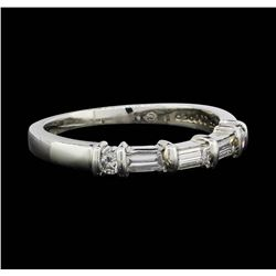 Jeff Cooper Platinum 0.46ctw Diamond Designer Ring
