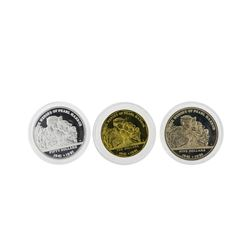 1993 The Heroes of Guadalcanal Commemorative 3 Coin Set
