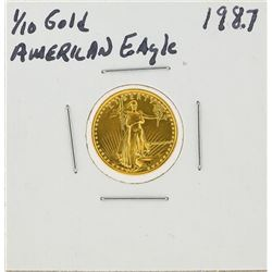 1987 $5 1/10oz American Gold Eagle Coin