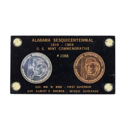 Alabama Sesquicentennial U.S. Mint Commemorative Coins