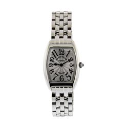 Ladies Franck Muller Cintree Curvex Stainless Steel Wristwatch