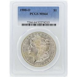 1900-O $1 Morgan Silver Dollar Coin PCGS MS64