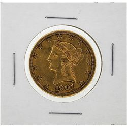 1901-S $10 Liberty Head Eagle Gold Coin