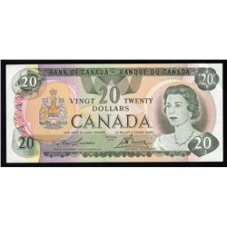 1979 $20 Bank of Canada Currency Note