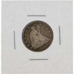 1875-CC Twenty Cent Piece Coin