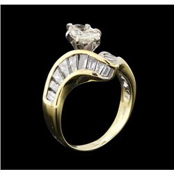 14KT Yellow Gold 2.21ctw Diamond Ring