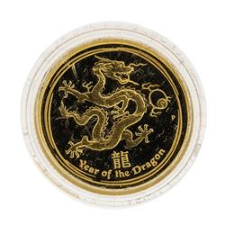 Perth Mint 2012 Australia $15 Year of the Dragon Gold Coin