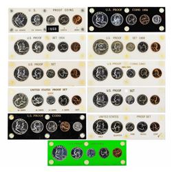 1953-1963 (5) Coin Proof Sets