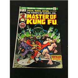 MASTER OF KUNG FU SPECIAL MARVEL EDITION #15, 1973.  FEATURING THE FIRST APPEARANCE OF SHANG-CHI