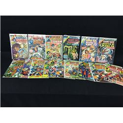 LOT OF 15 MARVEL GIANT SIZE 1970'S COMIC BOOKS