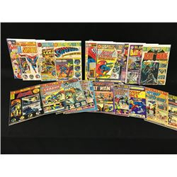 LOT OF 21 DC GIANTS, 1960'S AND 1970'S, INCLUDES: BATMAN SUPERMAN AND DETECTIVE COMICS