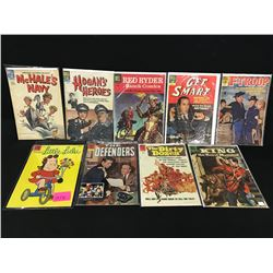 LOT OF DELL GOLDEN AGE COMICS INCLUDING: 10 CENT COVERS: LITTLE LULU, KING OF THE ROYAL MOUNTED