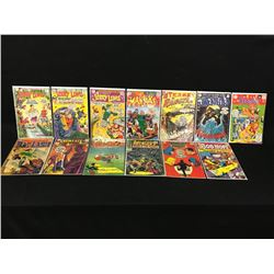 LOT OF 13 ASSORTED GOLD / SILVER AGE COMICS INCLUDING: WORLD'S FINEST, THE AVENGERS, BOB HOPE,