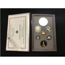 SPECIALEDITION NATIONAL WAR MEMORIAL MONUMENT, REMEMBERANCE DAY 1994 PROOF SET WITH .925 SILVER