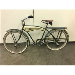 FIRESTONE MENS TANK BIKE WITH BLOOM TIRES 1950'S