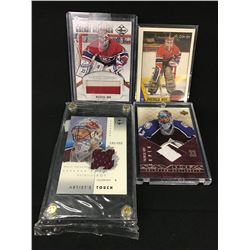 LOT OF 4 PATRICK ROY COLLECTOR HOCKY CARDS