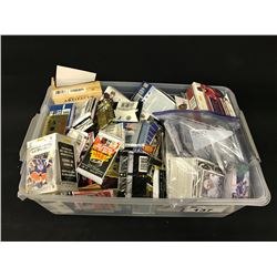 LARGE LOT OF ASSORTED SPORTS CARDS AND COLLECTABLES