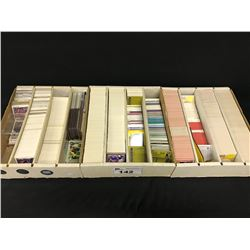 3 LARGE BOXES OF ASSORTED SPORTS / HOCKEY CARDS