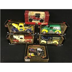 RACING COLLECTABLES LOT INC. VARIOUS DIE CAST VINTAGE TRUCKS