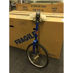 BLUE CCM VINTAGE UNICYCLE