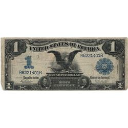 1899 $1 Black Eagle Silver Certificate Bill