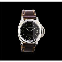Panerai Stainless Steel Luminor Base Watch