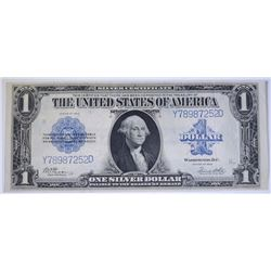 1923 $1.00 SILVER CERTIFICATE, NICE XF