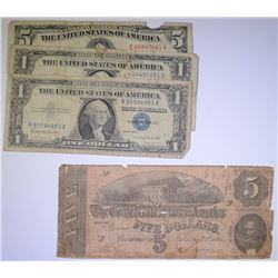 CURRENCY LOT:  SEE DESCRIPTION