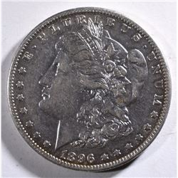 1896-O MORGAN SILVER DOLLAR - AU ORIGINAL