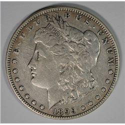 1899 MORGAN SILVER DOLLAR, VF  KEY DATE