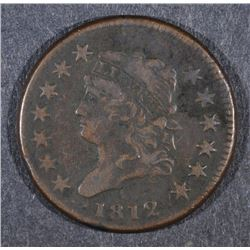 1812 LARGE CENT VF/XF