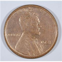 1921-S LINCOLN CENT CH/GEM BU