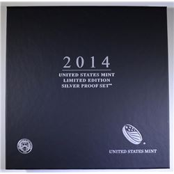 2014 U.S. LIMITED EDITION SILVER PROOF SET IN ORIGINAL PACKAGING