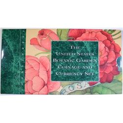 1997 BOTANIC GARDEN COINAGE & CURRENCY SET IN ORIGINAL PACKAGING