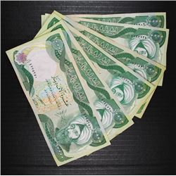 6 x 10000 IRAQI DINAR NOTES OFFICIAL CURRENCY OF IRAQ - NICE CIRC NOTES