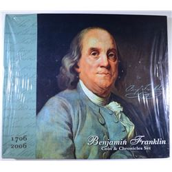 2004 BENJAMIN FRANKLIN COIN & CHRONICLES SET STILL WRAPPED IN ORIGINAL PLASTIC