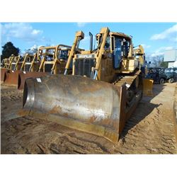 CAT D6RXW SERIES II CRAWLER TRACTOR, S/N AEP00398 (04 YR) SEMI-U BLADE W/ HYD TILT, REAR SCREEN, ECA