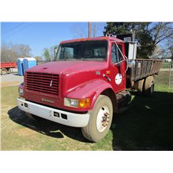 1997 INTERNATIONAL 4700 DUMP, VIN/SN:1HTSCAAN8VH491493 - S/A, DT466E ENGINE, 6 SPD TRANS, AIR BRAKES