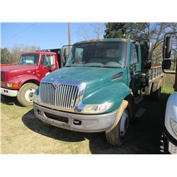 2006 INTERNATIONAL 4300 DUMP, VIN/SN:1HTMMAAR46H222417 - S/A, IHC DT466 ENGINE, ALLISON A/T, 14' OX